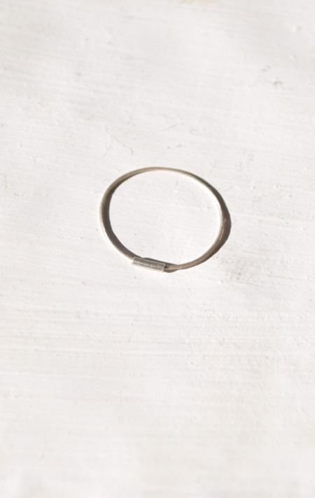 Saskia Diez Superfine Ring - Silver