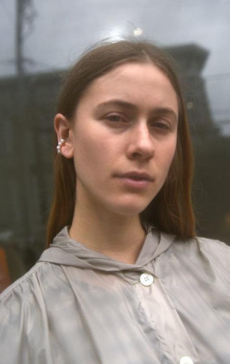 Saskia Diez 5 Pearl Ear Cuff