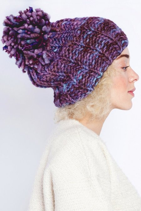 Spratters and Jayne Merino Pom Pom Hat