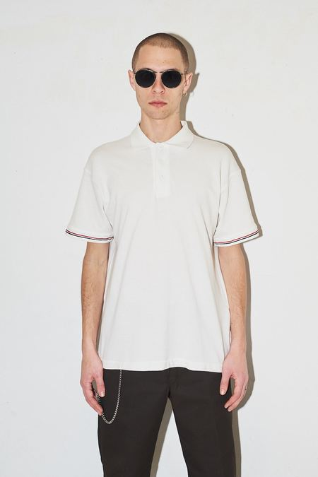 Assembly New York Pique Polo - White