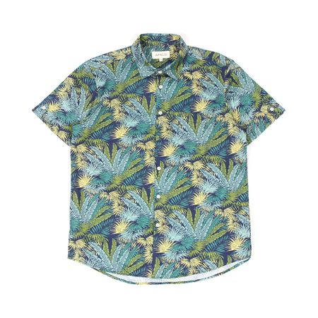 AFIELD GREEN PALMS BEACH SHIRT