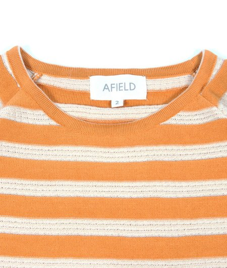AFIELD KNITTED GOLDEN T-SHIRT