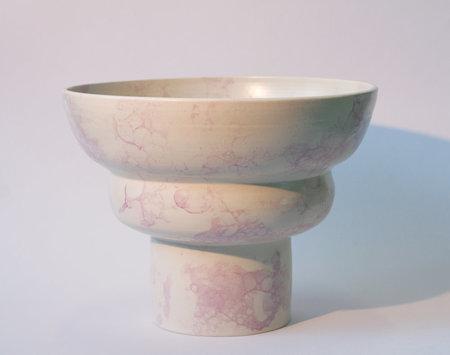 YYY puff pedestal bowl
