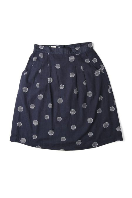 Bridge & Burn Ondine - Navy Dots