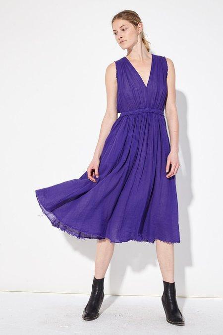Raquel Allegra Amethyst Gauze Desert Dress