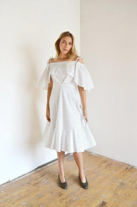 Eliza Faulkner Cape Dress