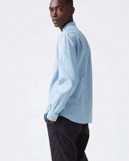 Hope Rick Shirt - Light Blue Denim