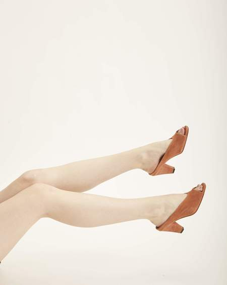 Rachel Comey Rouse Mules in Whiskey