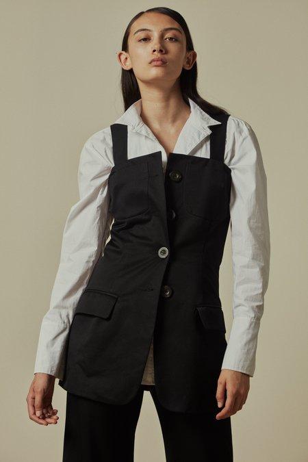 GEORGIA PARIS Thistle Vest - Black