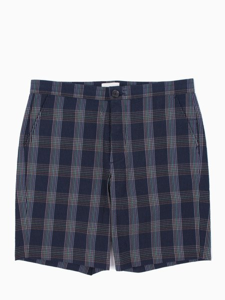 Oliver Spencer Ainsworth Drawstring Short - Navy