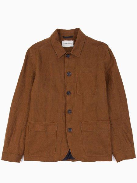 Oliver Spencer Cowboy Jacket - Evering Umber