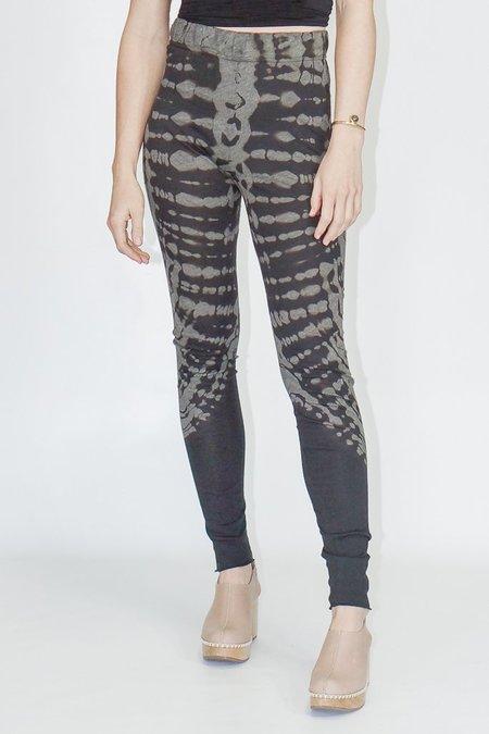 Raquel Allegra Onyx Tie Dye Leggings