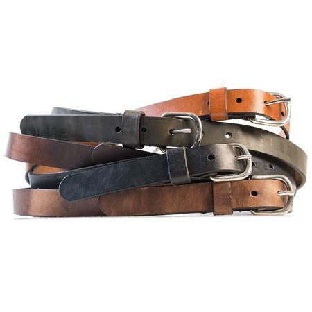 HELM Slim Belt - Silver Buckle