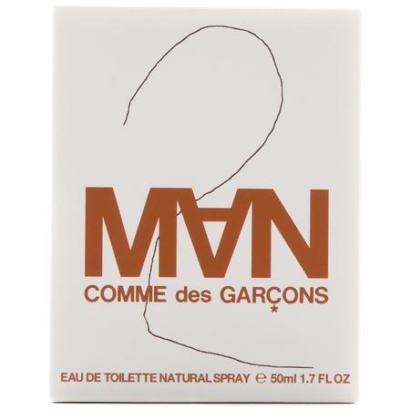 Comme des Garçons 2 Man Eau De Toilette / 50ml Spray