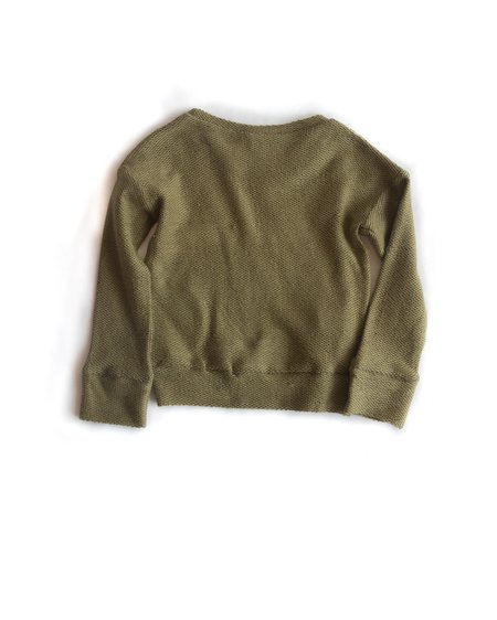 Kids Telegraph Ave PKT Sweatshirt - Eucalyptus Green