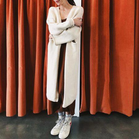 Lauren Manoogian Long Open Cardigan
