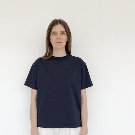 Tanaka Navy Boxy T-Shirt