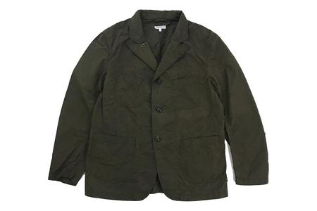 Engineered Garments Bedford Jacket - Olive Waxed Cotton