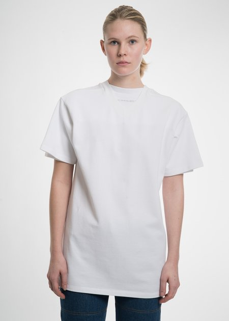Y/project White Double Neckline T-Shirt