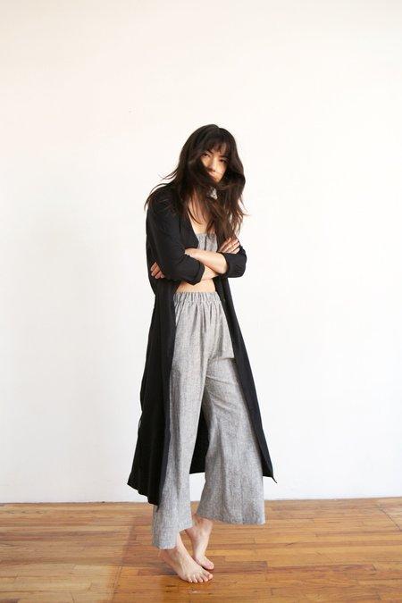 Ozma Mal Pais Duster Dress in Black