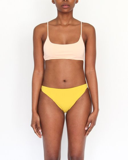Esby Swim Bridgett Bikini Bottom - Curry