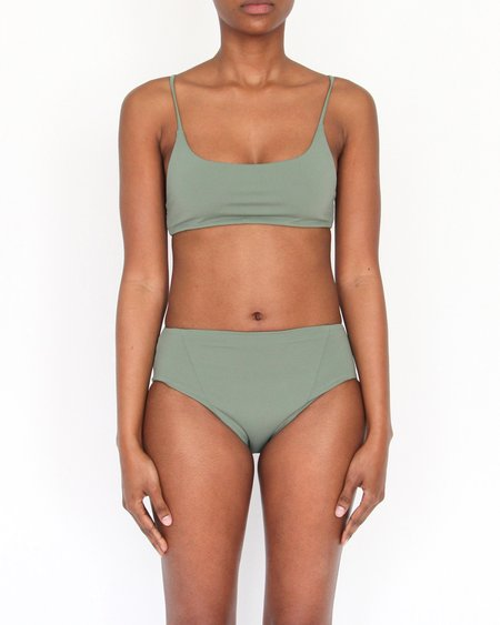 Esby Swim Zoey Hipster Bottom - Seaweed