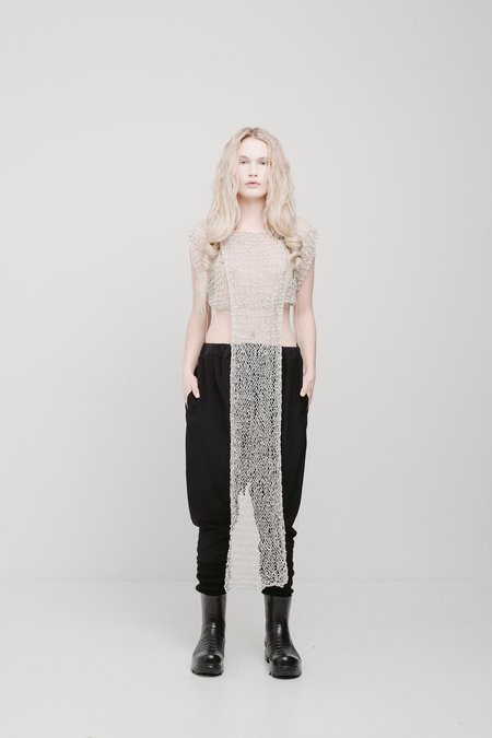 The Keep Store Hand Knit Tailed Crop