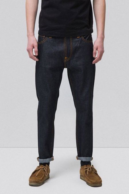 Nudie Jeans Brute Knut - Dry Navy Comfort