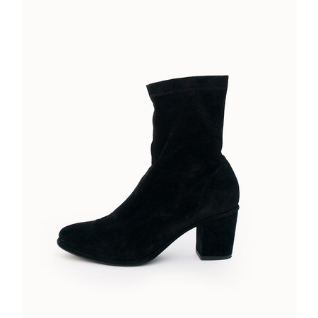 Opening Ceremony Black Suedette Boot