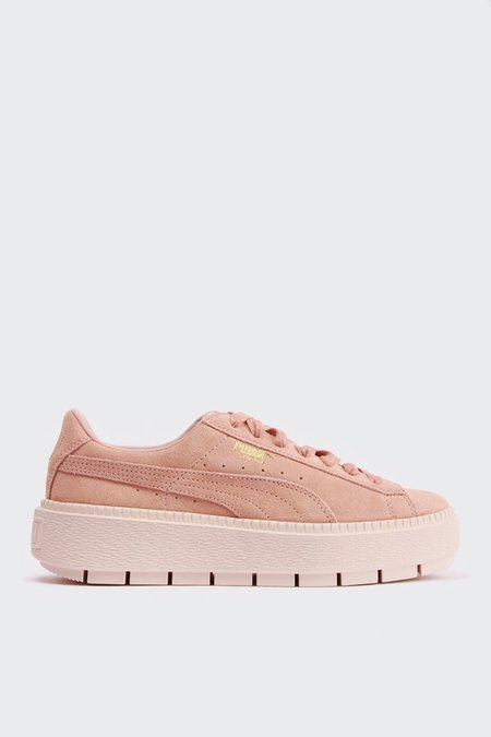 Puma Womens Platform Trace - Peach Beige