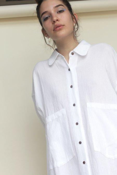 Sunja Link Shirt Dress