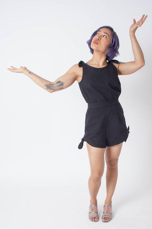 Samantha Pleet Piccolo Shorts - Black