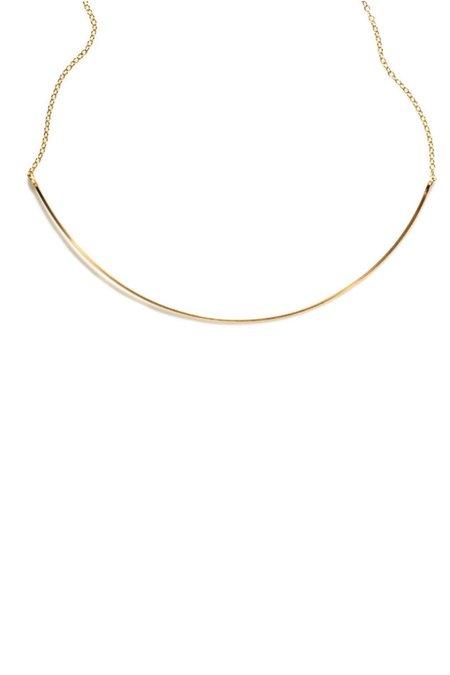Annika Inez Single Curved Wire Necklace