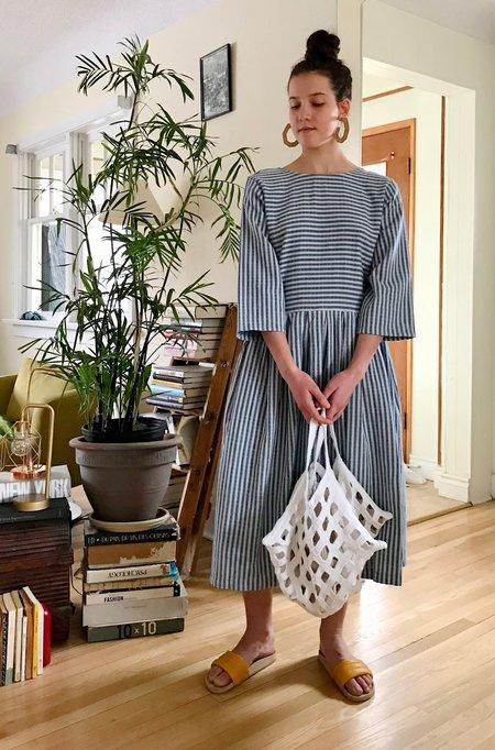 Lauren Manoogian Crochet Grid Bag in Natural