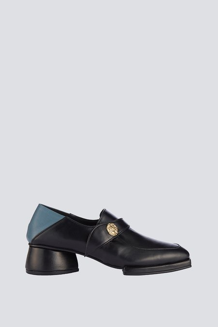 Reike Nen Leather Square Strap Loafer