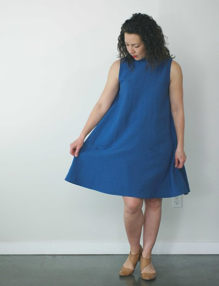 Jennifer Glasgow Nautical Dress in Azur