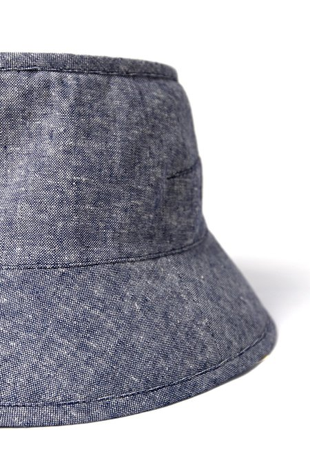Tsuyumi Short Brim Block Top - Chambray