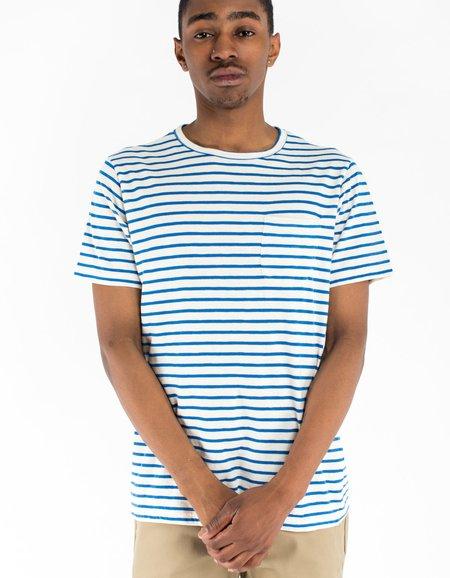 La Paz Guerreiro T-Shirt - Blue Stripes