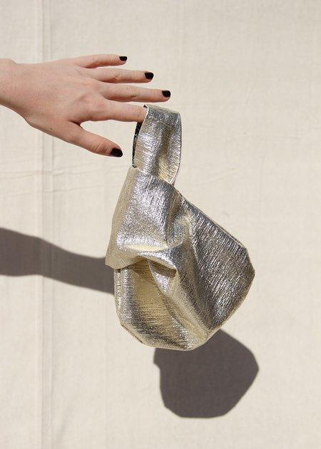 Nikki Chasin TOMA LOOP BAG - PLATINUM / PINK / FLORAL