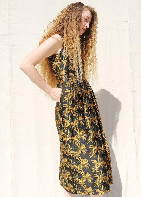 Nikki Chasin VESTA DRESS - GOLDENROD