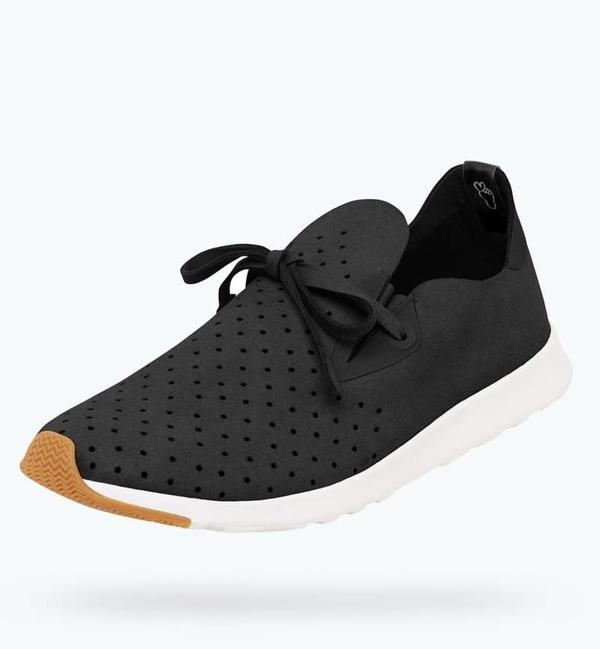 Native Shoes Apollo Moc - Jiffy Black/Shell White Natsho