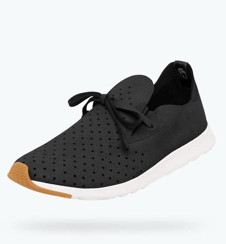 Native Shoes Apollo Moc - Jiffy Black/Shell White Natsho
