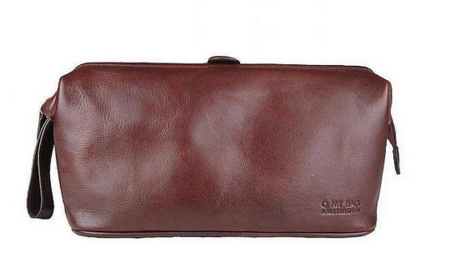 O My Bag Harvey`s Washbag eco classic brandy