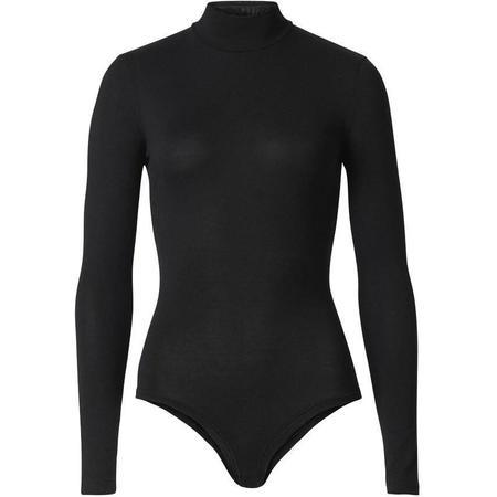 Woron Sexy & slim Sleek Bodysuit - black