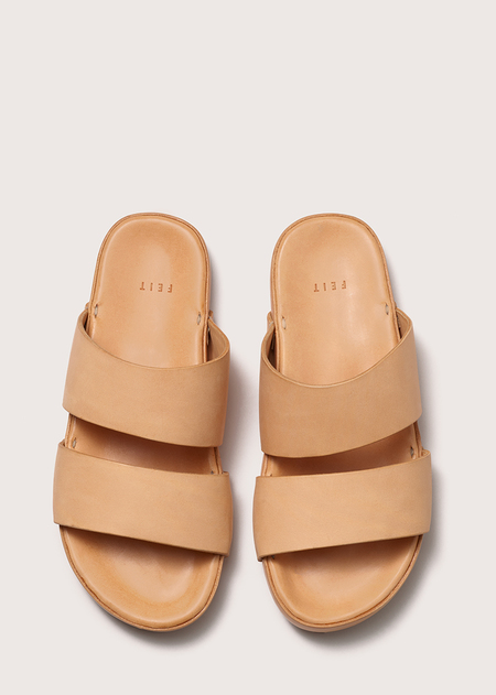 Unisex Hand Molded Sandal - Natural
