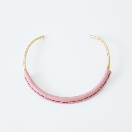 Crescioni Kiva Necklace - Pink