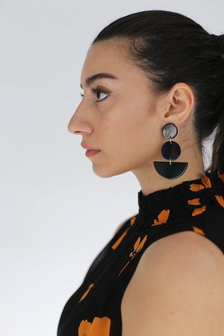 Rachel Comey Neale Earrings - Black