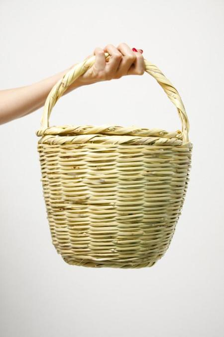 Jane Birkin Handmade Large Basket