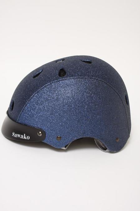 Sawako Navy Glitter Helmet