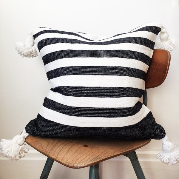 Valiente Goods Moroccan Pom Pillow No.02